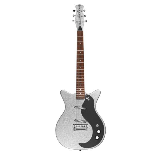 danelectro 59M NOS+ Silver Metalflake