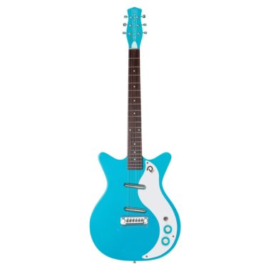 guitarra electrica Danelectro-59M-NOS-Baby-Come-Back-Blue