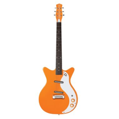guitarra electrica danelectro 59M NOS+ Orange Adelic