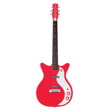 guitarra electrica danelectro 59M NOS+ Right On Red